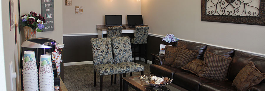 Waiting Room - Tour of Victoria TX Dentistry